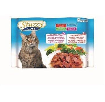 Stuzzy Cat Stuzzy Cat Ham/Rund 4 x 100 gram