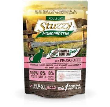 Stuzzy Cat Stuzzy Cat Ham 85 gram