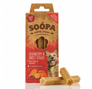 Soopa Soopa Cranberry Sticks 100 gram