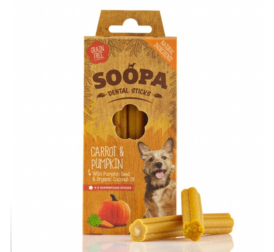 Soopa Carrot Sticks 100 gram