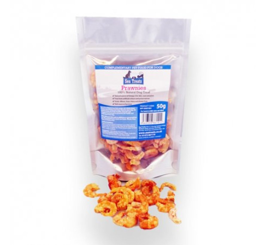 Sea Treats Garnalen 50 gram