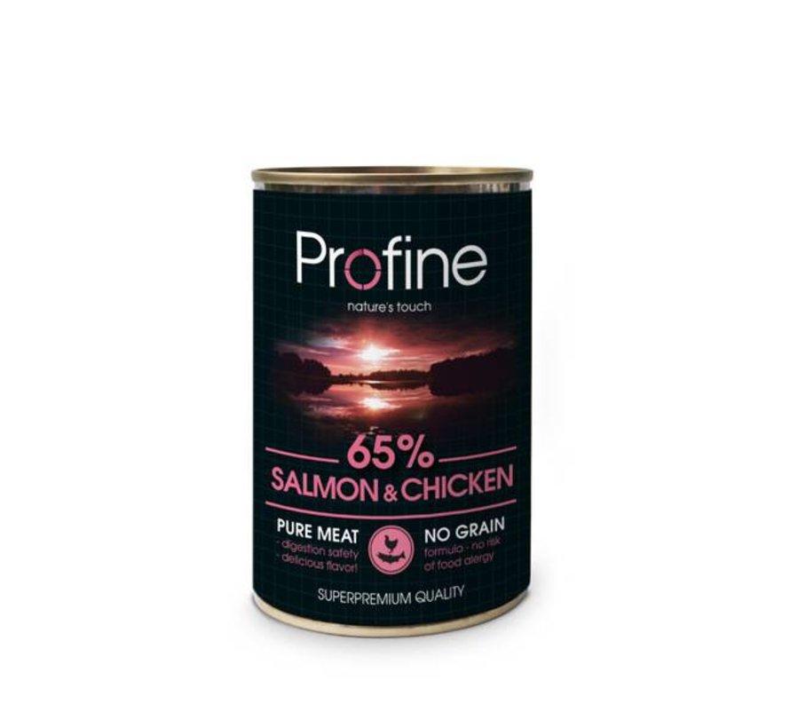 Profine Blik Zalm/Kip 400 gram