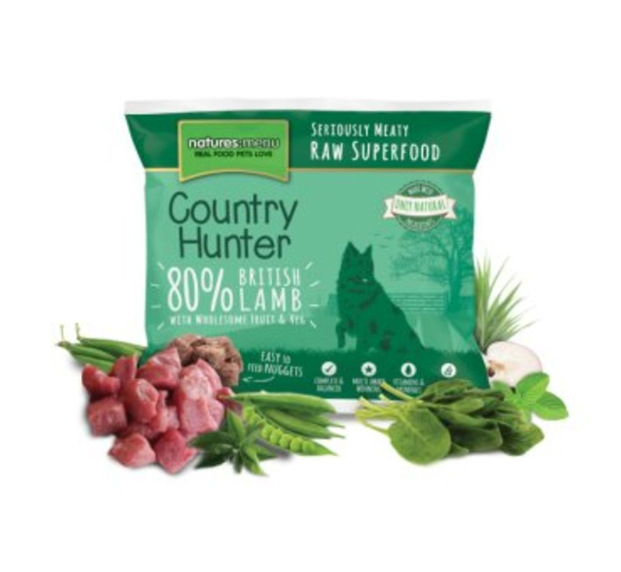 Natures Menu Country Hunter Lam 1 kg