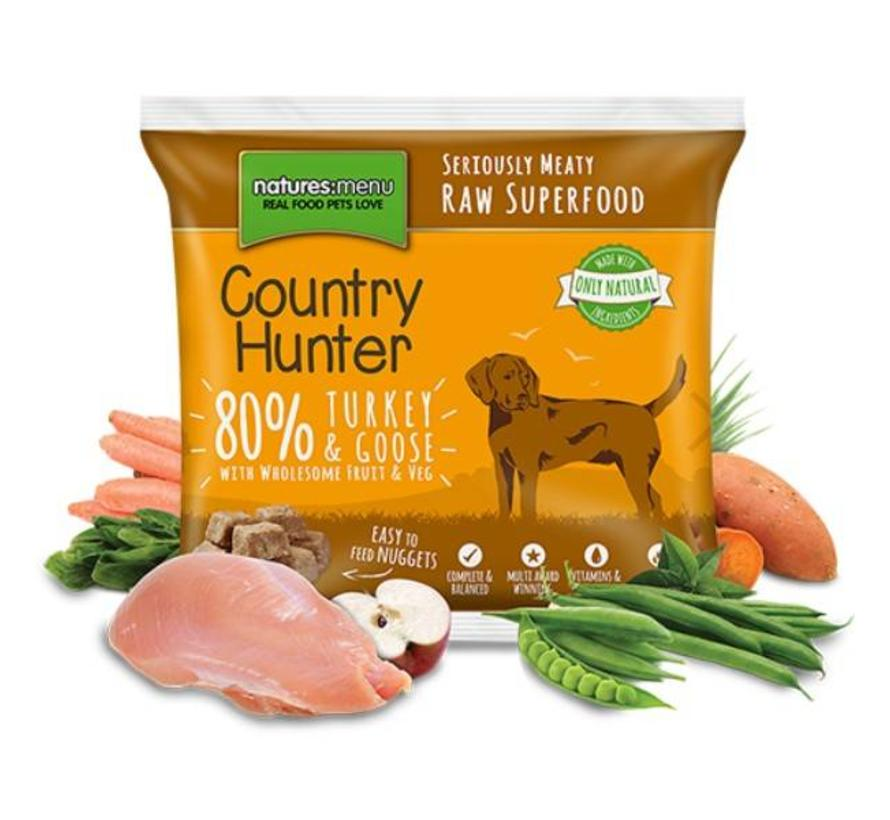 Natures Menu Country Hunter Kalkoen/Gans 1 kg