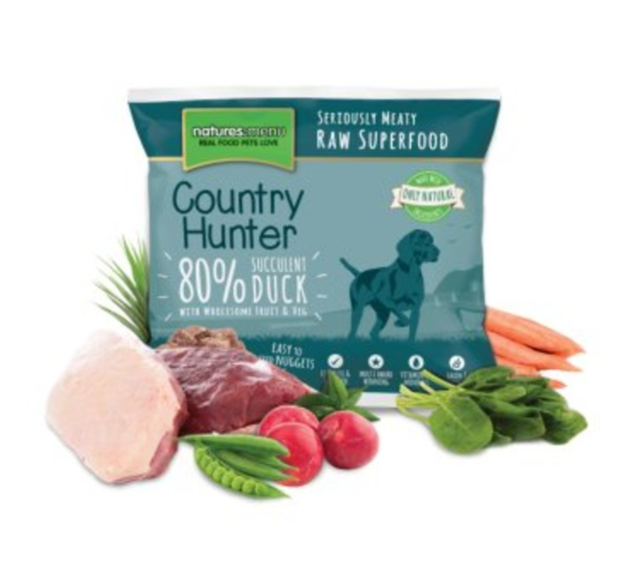 Natures Menu Country Hunter Eend 1 kg