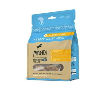Nandi Nandi Freeze Dried Lamb
