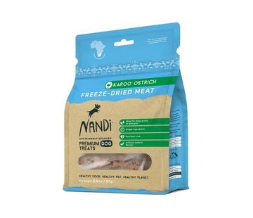 Nandi Nandi Freeze Dried Ostrich
