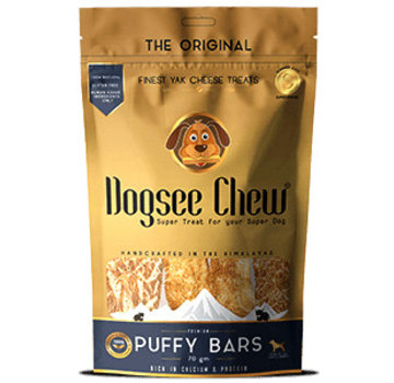 DogSee Dogsee Chew Puffy bars 70gr