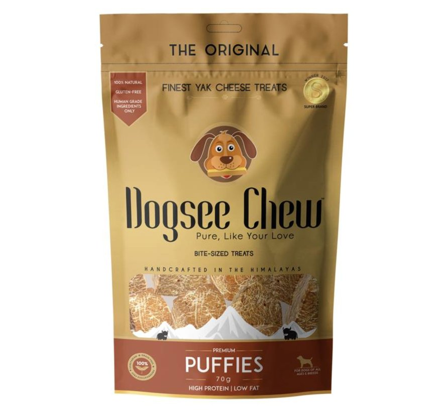 Dogsee Chew Puffie 70gr