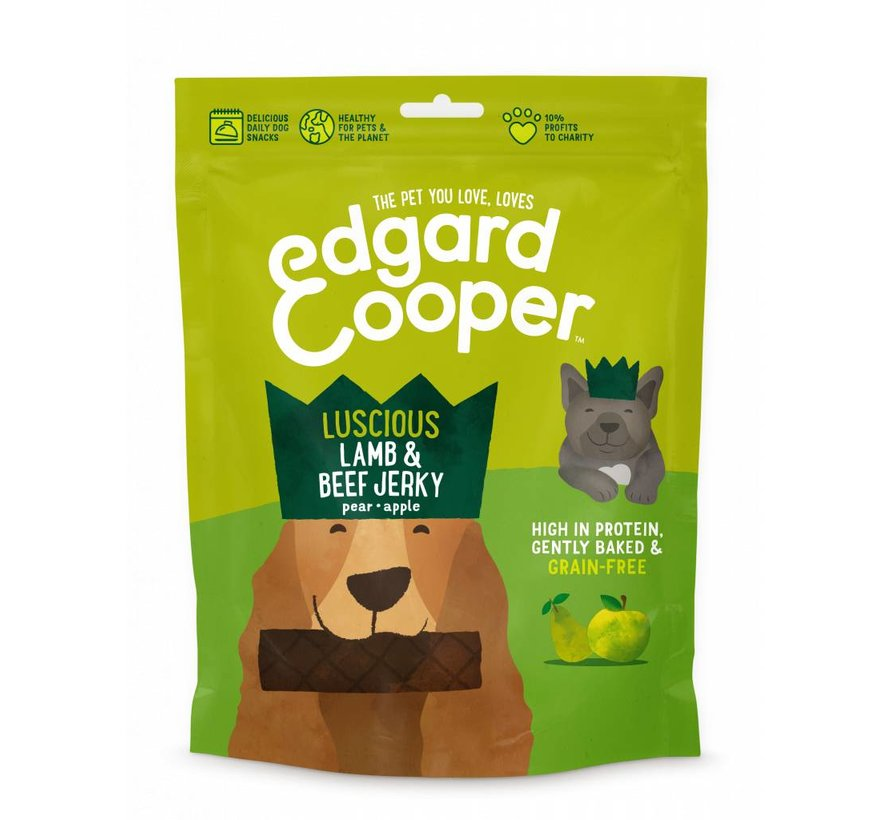 Edgard & Cooper Jerky Lam/Rund 150gr