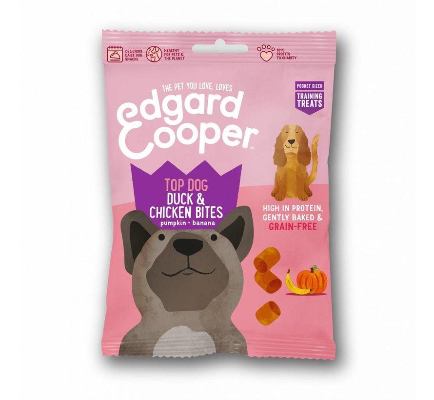 Edgard & Cooper Dog Bites Eend/Kip 50gr
