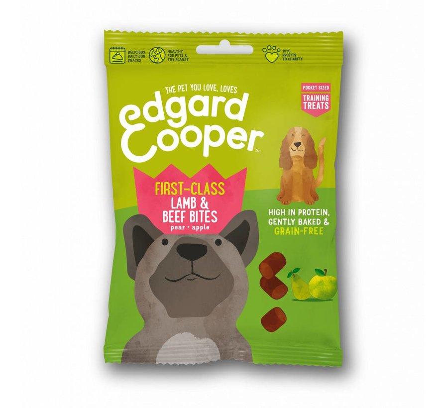 Edgard & Cooper Dog Bites Lam/Rund 50gr