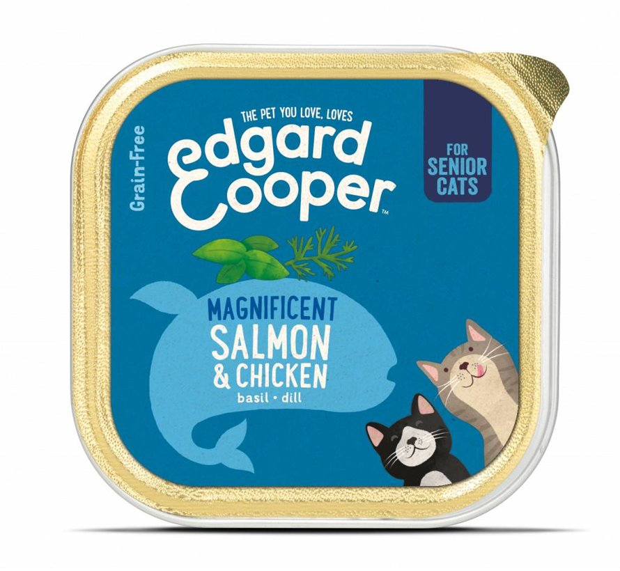 Edgard & Cooper Kat Kuipje Kip & Zalm