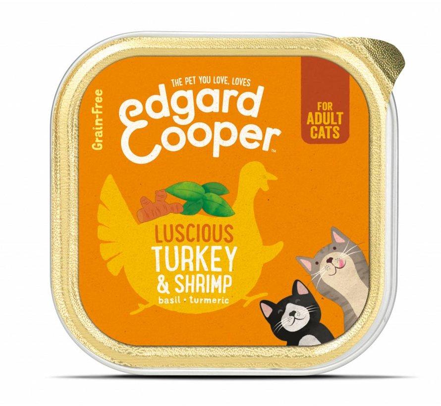 Edgard & Cooper Kat Kuipje Kalkoen & Garnalen