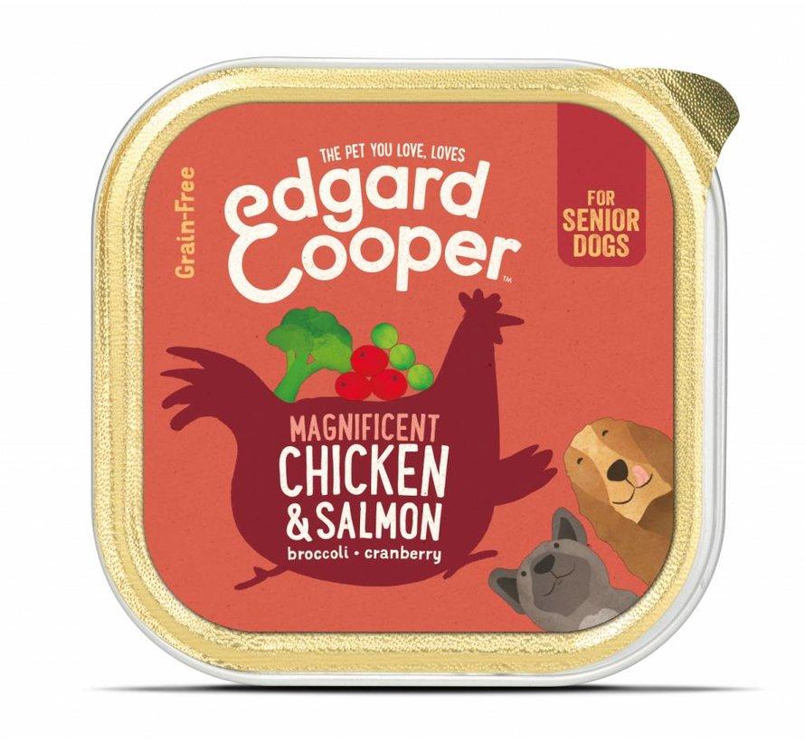 Edgard & Cooper Kuipje Kip & Zalm 150gr