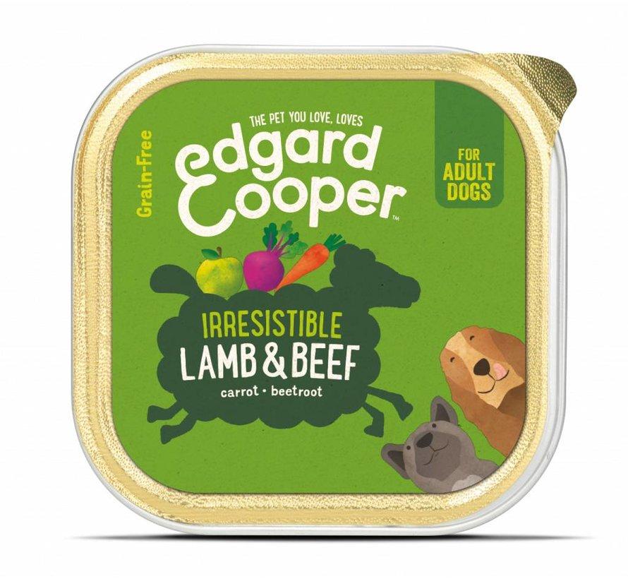 Edgard & Cooper Kuipje Lam & Rund 150gr