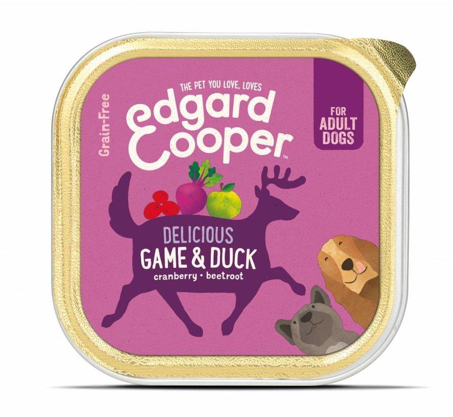 Edgard & Cooper Kuipje Wild & Eend 150gr