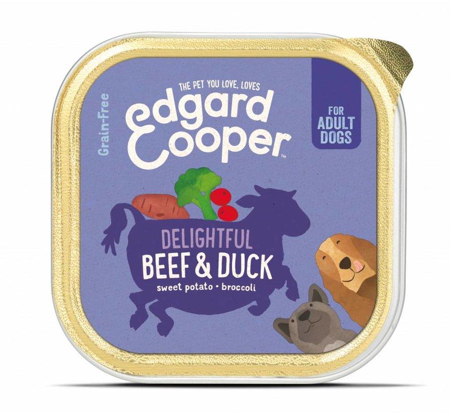 Edgard & Cooper Kuipje Rund & Eend 150gr