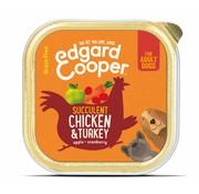Edgard & Cooper Edgard & Cooper Kuipje Kip & Kalkoen 150gr
