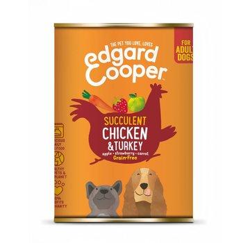 Edgard & Cooper Edgard & Cooper Blik Kip & Kalkoen 400gr