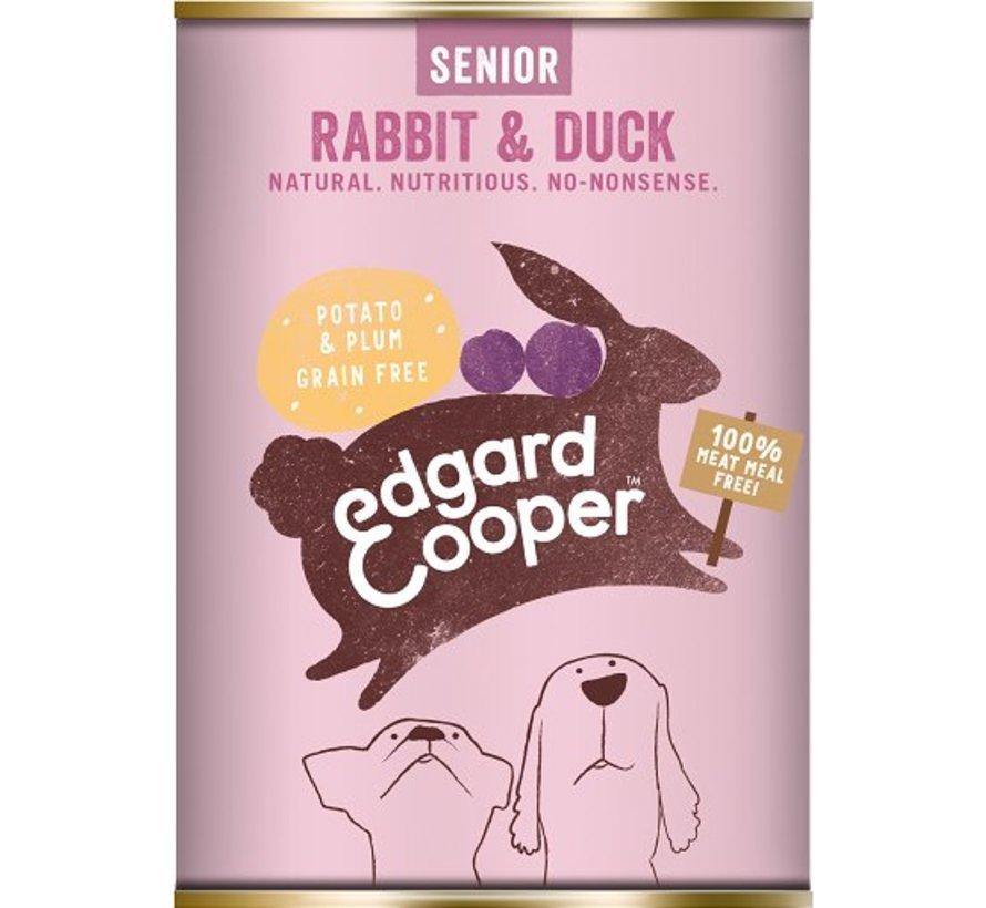 Edgard & Cooper Blik Konijn & Eend 400gr