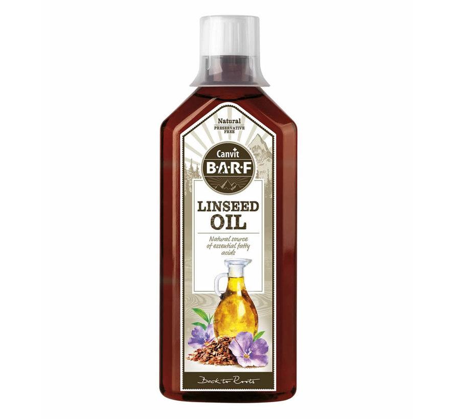 Canvit Lijnzaad olie 0,5L