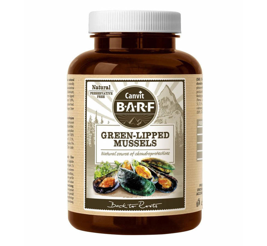 Canvit Green-lipped Mussel 180gr