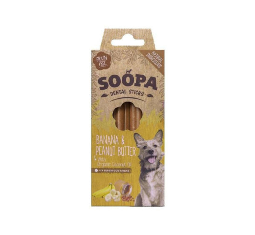 Soopa Banana Sticks 100 gram