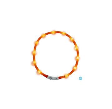 jack & vanilla JV LED Halsband Oranje