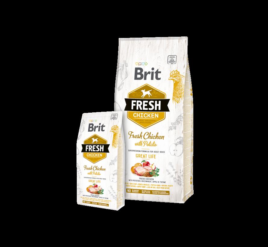 Brit Fresh Chicken 2,5 kg