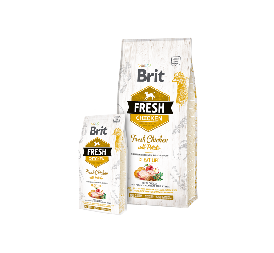 Brit Fresh Chicken 12 kg