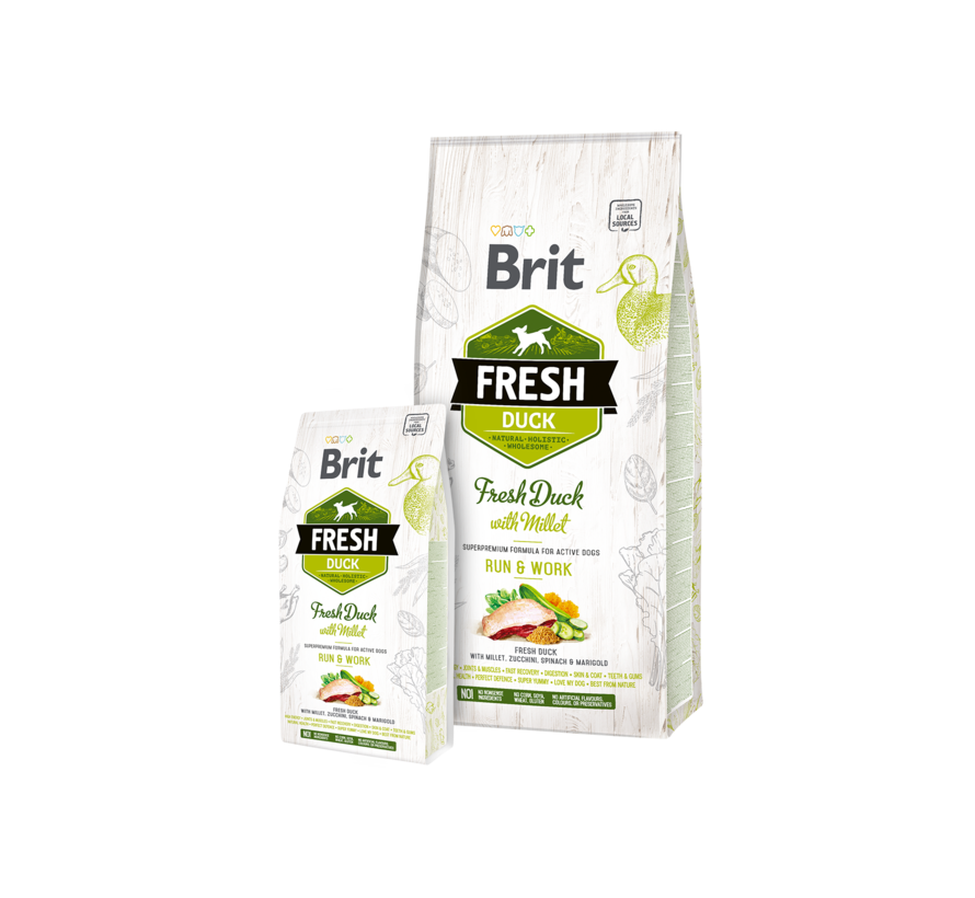 Brit Fresh Duck 2,5 kg
