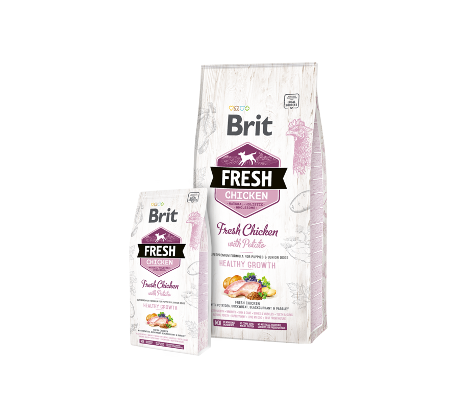 Brit Fresh Puppy 12 kg