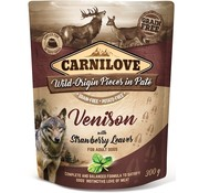 Carnilove in to the wild Carnilove Pouch Hert 300gram