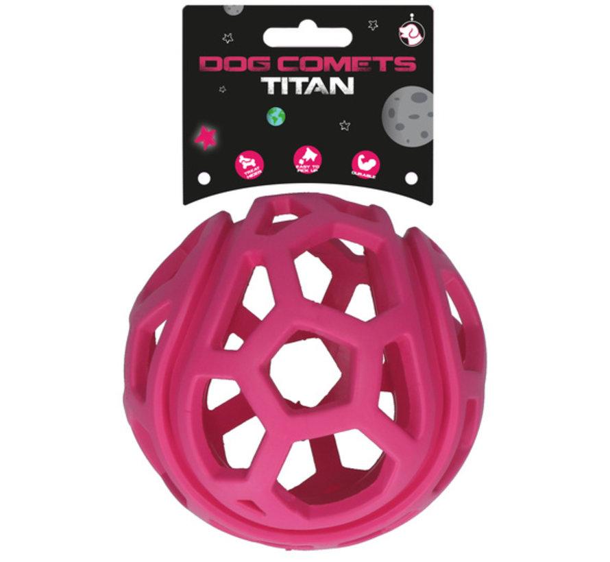 Dog Comets Titan Roze M