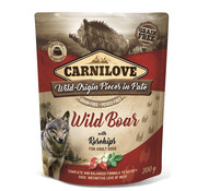Carnilove in to the wild Carnilove Pouch Wild Zwijn 300gr