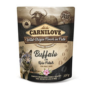 Carnilove in to the wild Carnilove Pouch Buffel 300gr