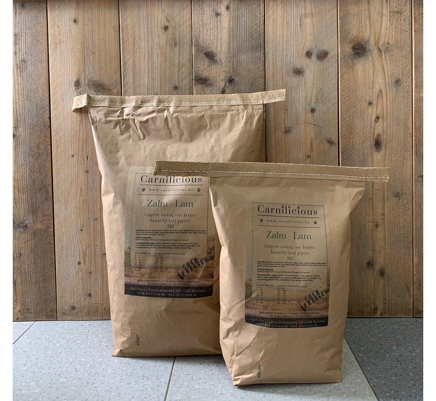 Carnilicious Koudgeperst Zalm/Lam 5kg