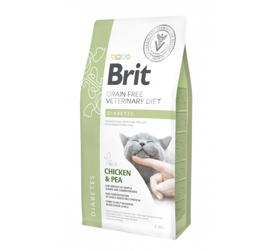 Brit Veterinary Diet Cat Diabetes 2kg