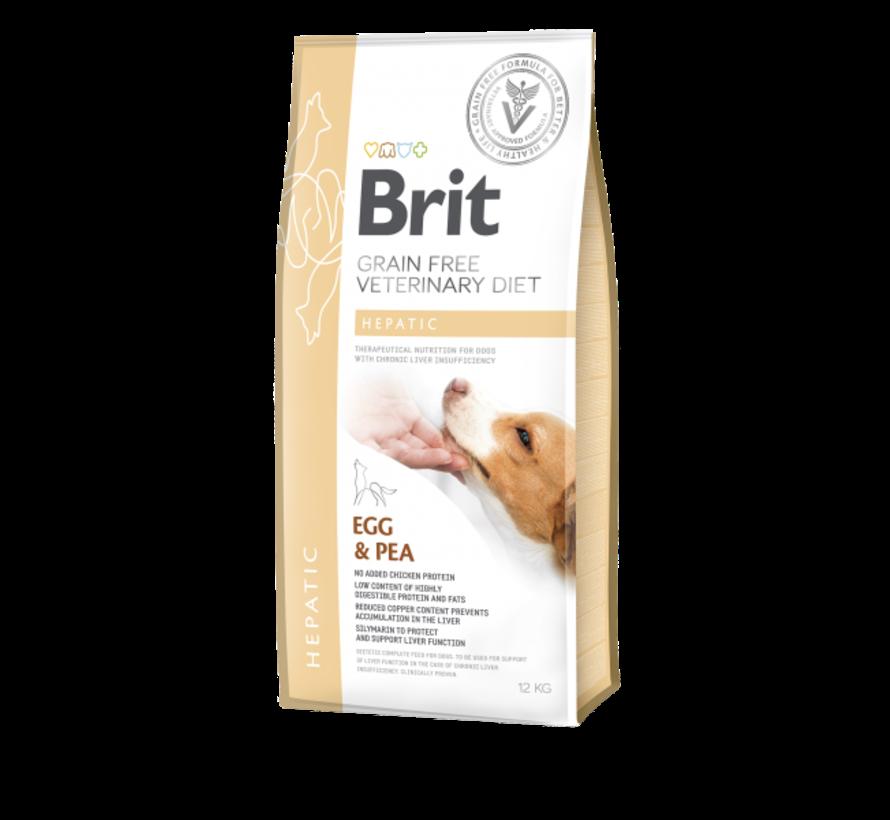 Brit Veterinary Diet Hepatic 12kg