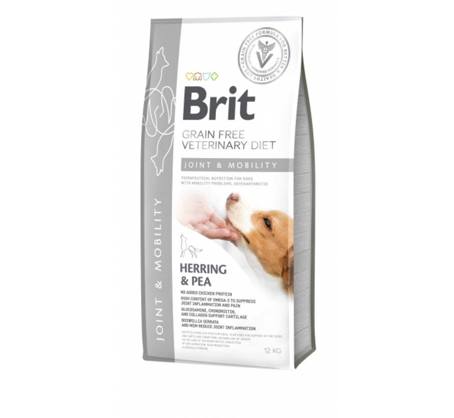 Brit Veterinary Diet Mobility 12kg