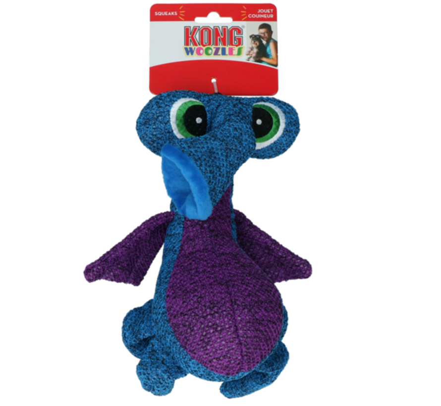 Kong Woozles Blue Md