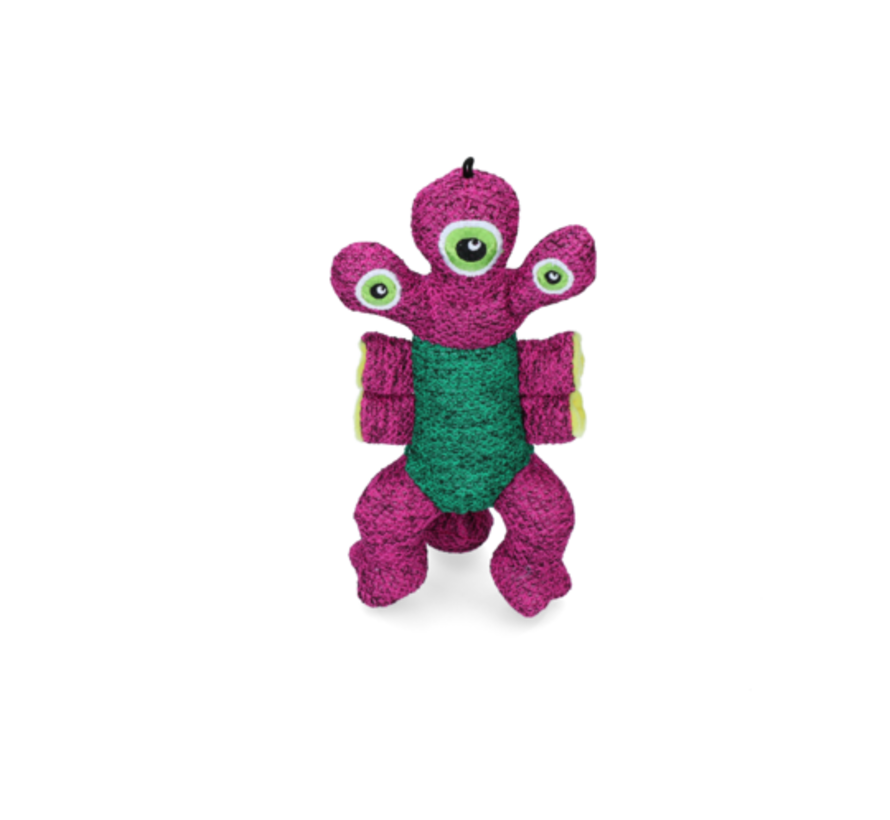 Kong Woozles Pink Md
