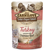 Carnilove in to the wild Carnilove Pouch Kat Kip/Kalkoen 85gr