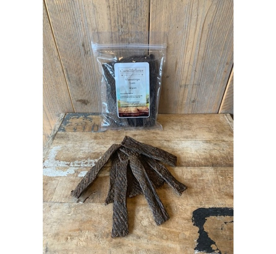 Carnilicious Vleesstrips Lam 500 gram