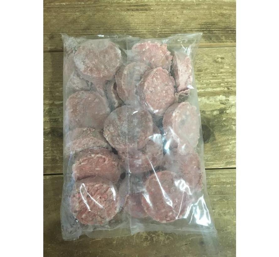 Carnilicious Doggy Burger Zalm/Kalkoen 1 kg