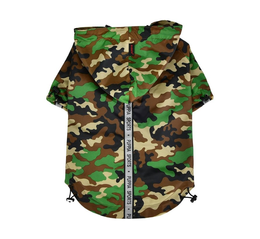 Puppia Regenjas Camouflage XL