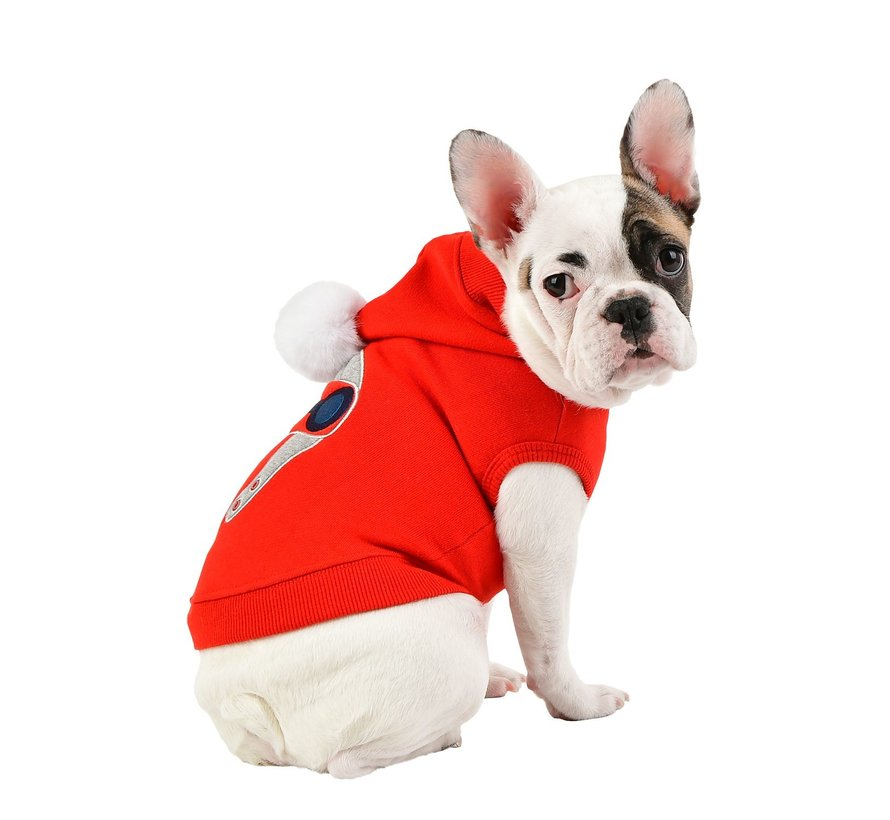 Puppia Trui Aviator Red XL