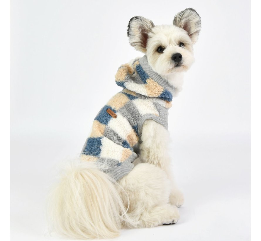 Puppia Trui Louie Blue XL