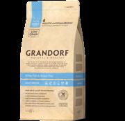 Grandorf Grandorf Cat Witte Vis & Bruine Rijst Adult 2kg
